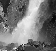 Power of Lower Yosemite Fall by Benjamin Padgett