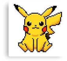 Pixel Pikachu! Canvas Print