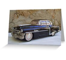 1953 Cadillac. Greeting Card