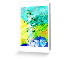Zweierlei-2 Greeting Card
