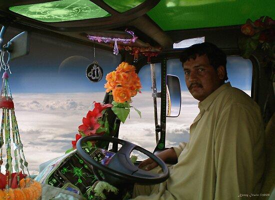 Shaheed Nadir's Pathan Space Truck Breaks Orbit by Kenny Irwin