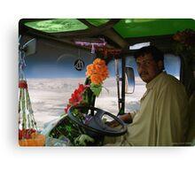 Shaheed Nadir's Pathan Space Truck Breaks Orbit Canvas Print