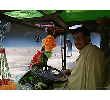 Shaheed Nadir's Pathan Space Truck Breaks Orbit Photographic Print