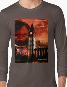 GORDON BROWN FUTURE I Long Sleeve T-Shirt