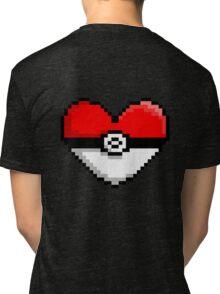 PokeHeart Tri-blend T-Shirt