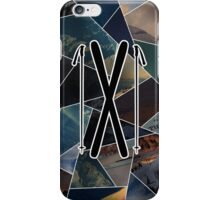 Riding the mountain iPhone Case/Skin