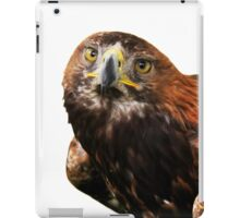 Golden eagle looking at camera  iPad Case/Skin