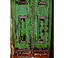 green door ... Photographic Print