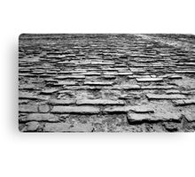 Forbidden Cobbles Canvas Print