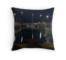 Fishermans Landing Throw Pillow