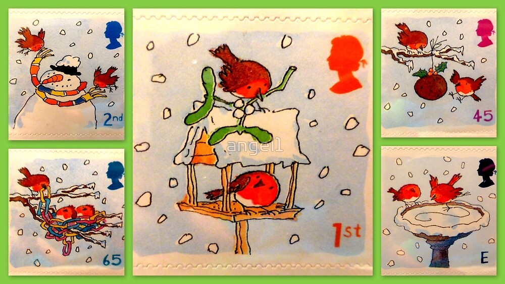 Christmas Stamp Collection by ©The Creative  Minds