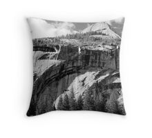 North Dome & Royal Arches Throw Pillow