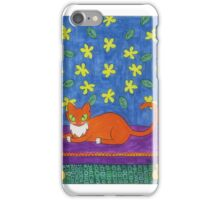 Relaxing in Style iPhone Case/Skin