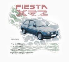 Fiesta XR2 Classic Car Men's T-shirt One Piece - Long Sleeve