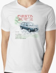 Fiesta XR2 Classic Car Men's T-shirt Mens V-Neck T-Shirt