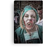 Zombie Walk (4) Canvas Print
