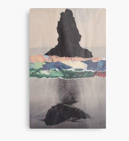 Colored Waves Metal Print