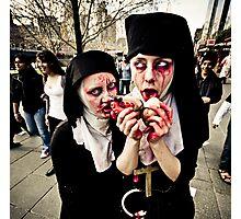 Pair of Zombie Nuns Photographic Print