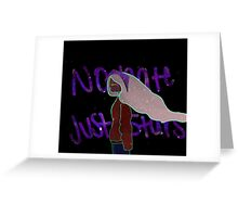 No Hate Only Stars Greeting Card
