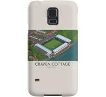 Vintage Football Grounds - Craven Cottage (Fulham FC) Samsung Galaxy Case/Skin