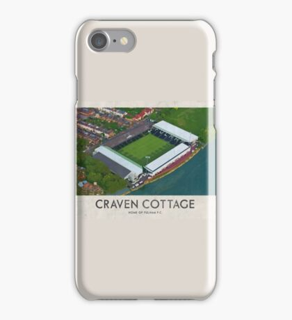 Vintage Football Grounds - Craven Cottage (Fulham FC) iPhone Case/Skin