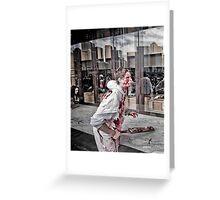 Zombie Walk (8) Greeting Card