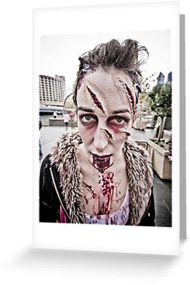 Zombie Walk (9) by Reg  Lyons