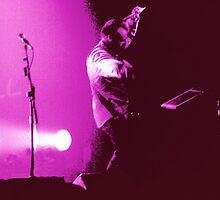 Peter Hook of New Order by Murray Gellatly