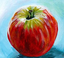 Red Apple Acrylic by AngelaBishop