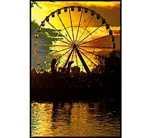 Ferris wheel - If you dare Photographic Print