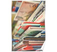 B is for Books Poster