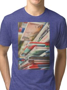 B is for Books Tri-blend T-Shirt