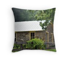 Hobbit Country Mansion~View Two Throw Pillow