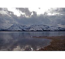 Jackson Lake Wyoming Photographic Print