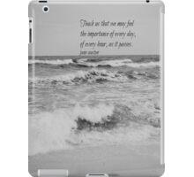Jane Austen Every Day iPad Case/Skin