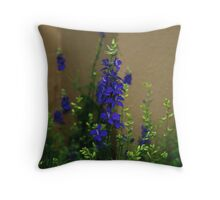 The Softness of Blue Throw Pillow