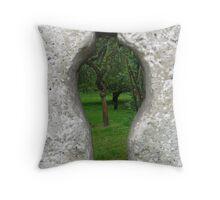Klostergarten Weltenburg Throw Pillow
