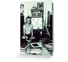 Stereo Widow 1984 Greeting Card