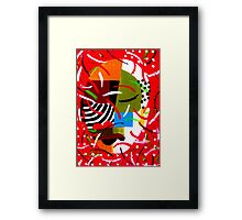 On Block  ll Framed Print