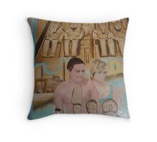 Princess Diana and Dodi in Love Series (2/3) : Love   Throw Pillow