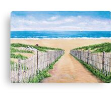 Durridge Bay, Northumberland  Canvas Print