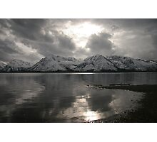 Jackson Lake Evening Photographic Print