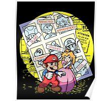 Future Past Mario Poster