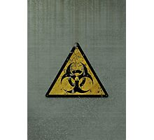 Biohazard Photographic Print