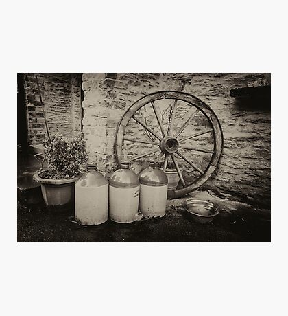Still More Cider in the jar  Photographic Print