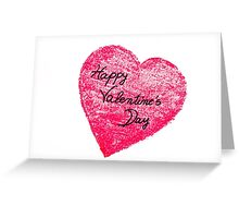 Happy Valentines Day greeting card Greeting Card