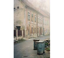 Foggy morning, Cesky Krumlov Photographic Print