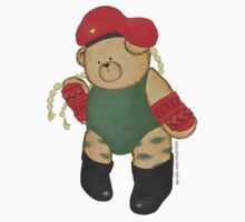 BEARS and FIGHTERS - Cammy sticker by MAISON-MACARONI