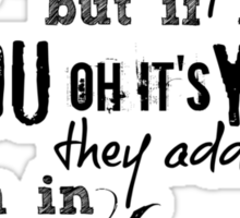 Little Things - One Direction Sticker