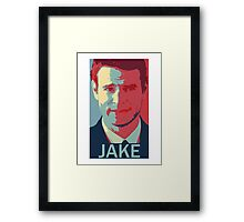 """I need you to know not choosing me is okay"" - jake ballard Framed Print"